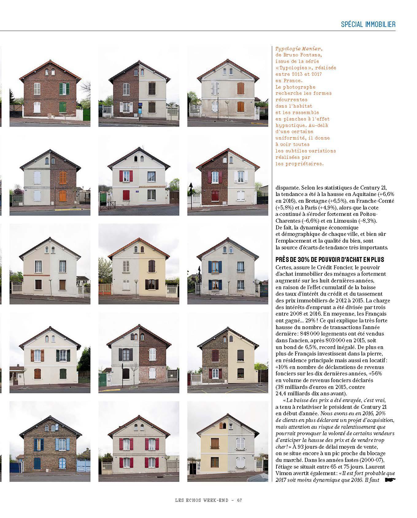 Les echos week end immobilier faire les bons choix l agami - Cabinet immobilier parisien ...
